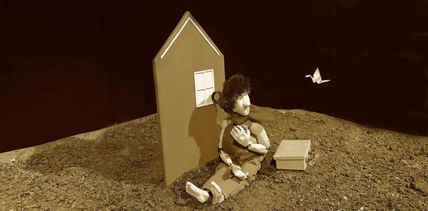 « Jardin ! » Spectacle de marionnettes et d'objets par la compagnie Libellule