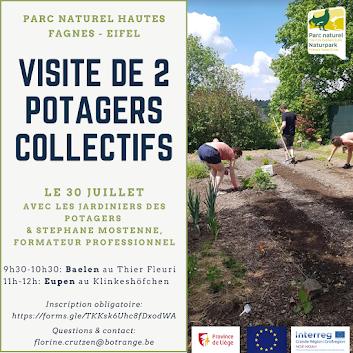 Besuch der NOE-NOAH-Gemeinschaftsgärten in Baelen und Eupen (Belgien) am Freitag, 30. Juli
