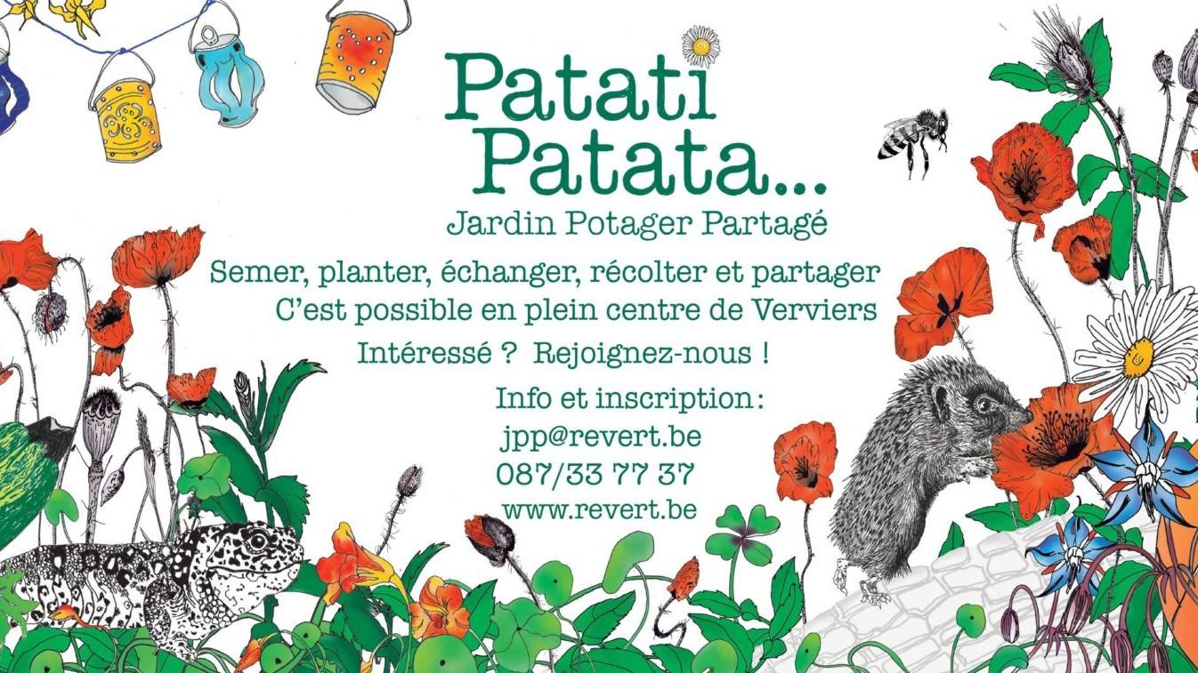 Patati Patata… Un jardin-potager collectif en plein centre-ville de Verviers