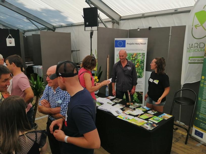 Le soutien de la Province de Liège aux jardins collectifs de la Grande Région
